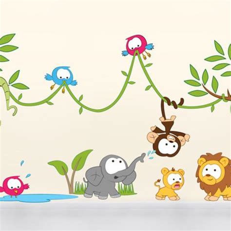 Large Childrens Wall Stickers kids wall stickers nursery wall stickers by vinyl