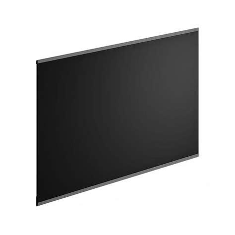 cr 233 dence verre noir h 45 cm x l 60 cm leroy merlin
