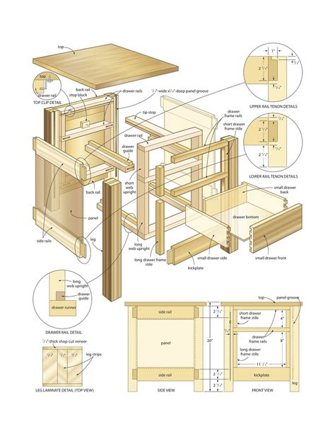 woodworking plan understanding woodworking plans and drawings