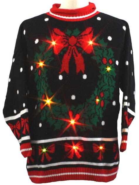 Sweaters With Lights And by 31 Best Tacky Sweaters Images On