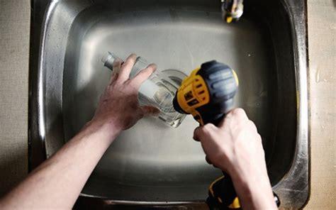 transformer une bouteille en le