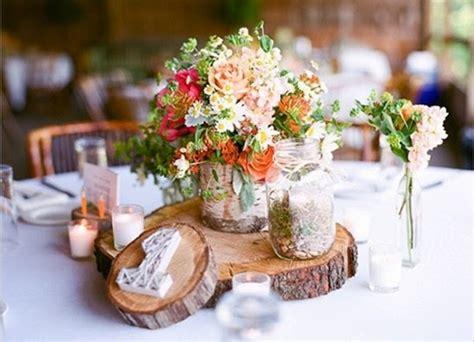 rustic table centerpieces wedding ideas lisawola unique rustic wedding