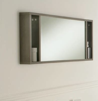 bathroom shelves with mirror oviedo 900mm mirror with shelves modern bathroom