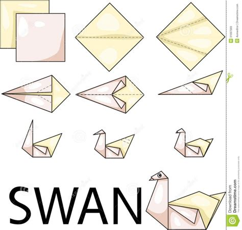 how to make a swan origami easy origami swan quotes comot