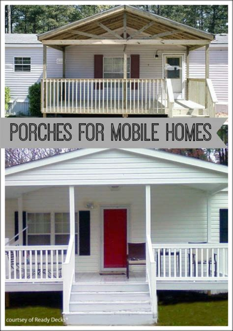 Build A Porch Roof by Porch Designs For Mobile Homes Mobile Home Porches