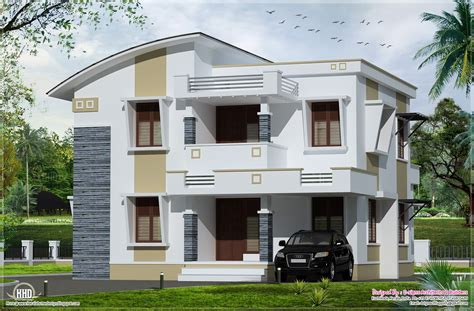 flat home design simple flat roof home design kerala architecture