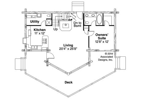 a frame cabin floor plans altamont 30 012 a frame house plans log home vacation associated designs