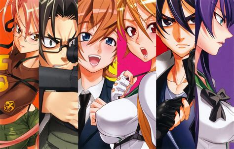 highschool of the dead high school of the dead to go digital japandaman