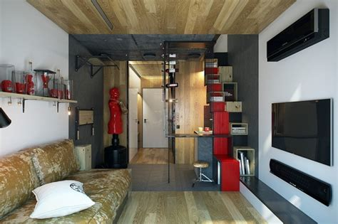 18 square meters to an 18 square meter microapartment that is surprisingly