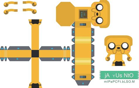 Adventure Time Papercraft Gunter Www Imgkid The