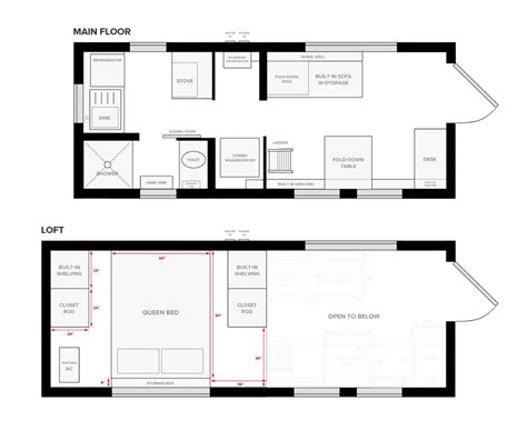 floor plan blueprint tiny house on wheels floor plans blueprint for construction