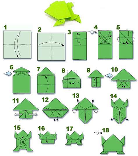origami frog base origami origami frog base diagram crafts origami frog