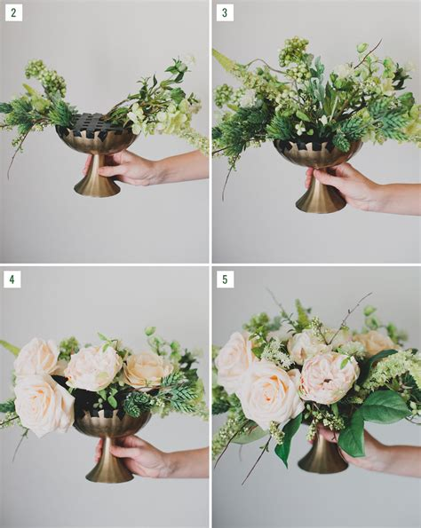 silk centerpieces diy silk flower centerpiece green wedding shoes