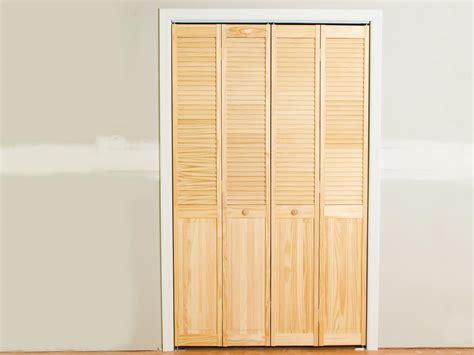 closet bifold doors install bifold closet doors how tos diy