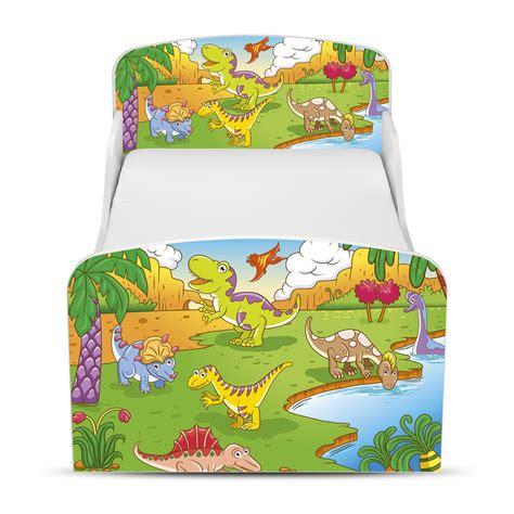 dinosaur toddler bed frame dinosaurs mdf junior toddler bed new furniture ebay