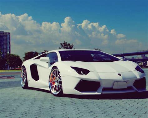 Car Wallpapers Hd Lamborghini Wallpaper For Mac by 1280x1024 White Lamborghini Aventador Chrome Rims Desktop