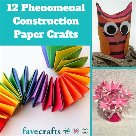 crafts made from construction paper 12 phenomenal construction paper crafts favecrafts