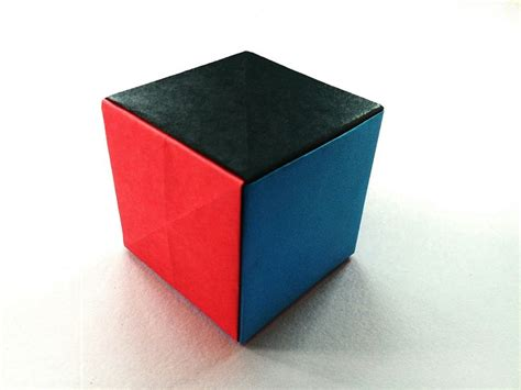money origami cube modular origami quot simple paper cube quot easy anyone