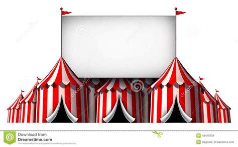 circus sign stock illustration image 48415034