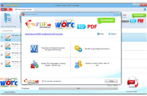 pdf converter foxpdf docx to pdf converter 3 0 free software