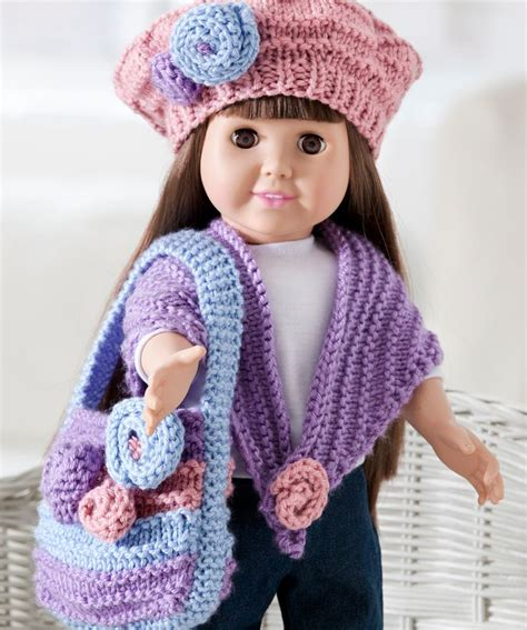 free knitting patterns for american dolls american american crochet and knit patterns
