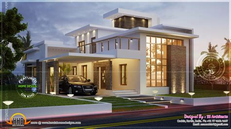 How To Read Floor Plans awesome 3000 sq feet contemporary house home kerala plans