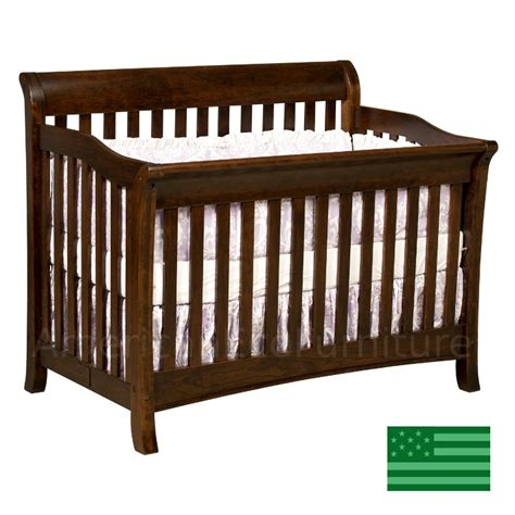 usa made baby cribs amish belmont 4 in 1 convertible baby crib solid wood