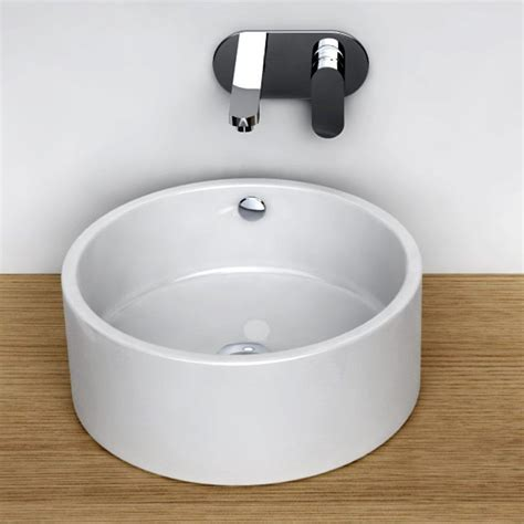vasque 224 poser ronde 41 cm c 233 ramique