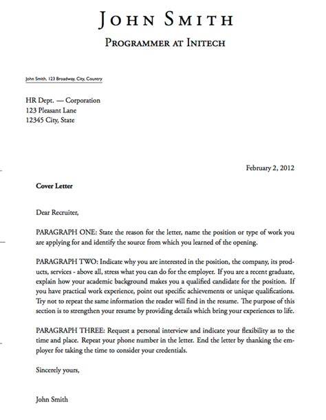 cover letters 021