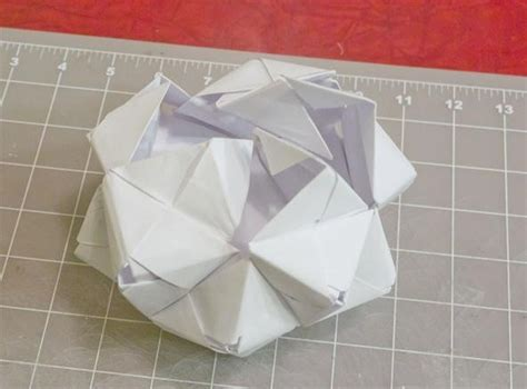 origami sphere easy modular origami how to make a cube octahedron