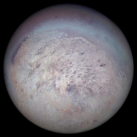 the moon triton the largest moon of neptune s astronomy news