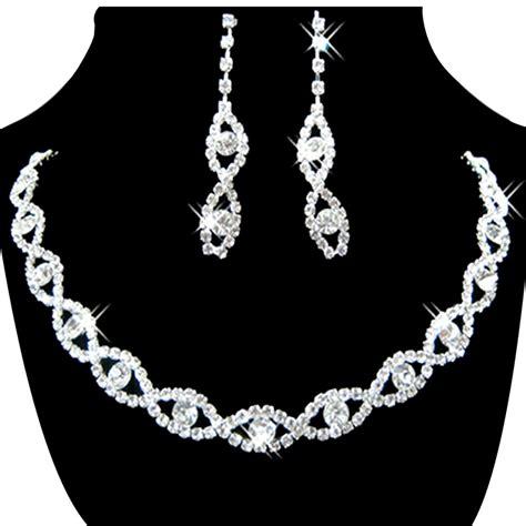 rhinestones for jewelry s jewelry set bridal wedding 8 shape rhinestone