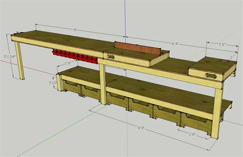 garage bench designs billy easy workbench designs garage wood plans us uk ca