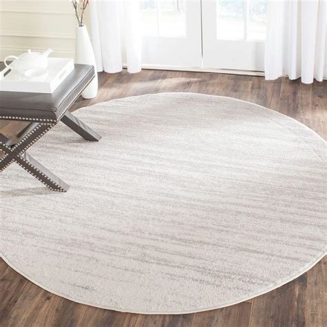 8 ft rugs safavieh adirondack ivory silver 8 ft x 8 ft area