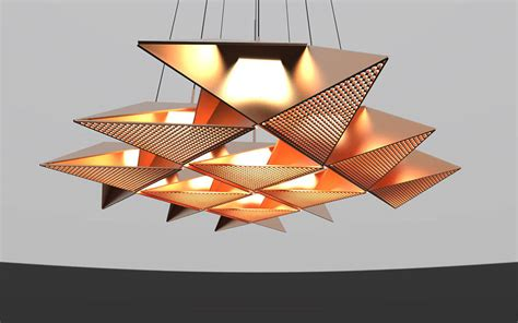 origami lights resch origami lighting series fubiz media
