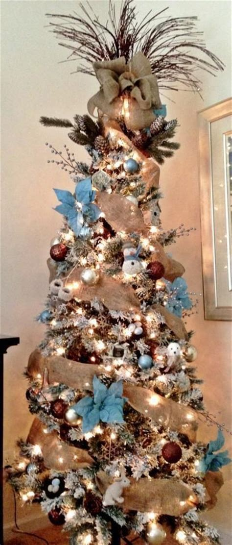 rustic decorated trees rustic tree decorated trees