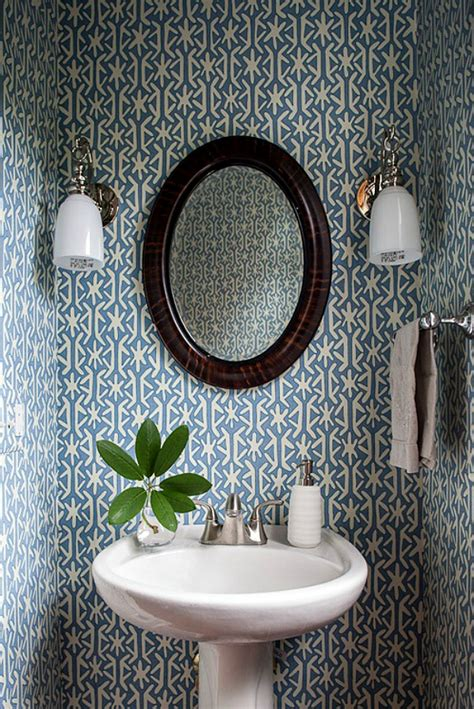 wallpaper for powder room powder room wallpaper home decorating trends homedit