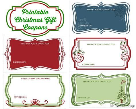 christmas gift coupons printable life with lovebugs
