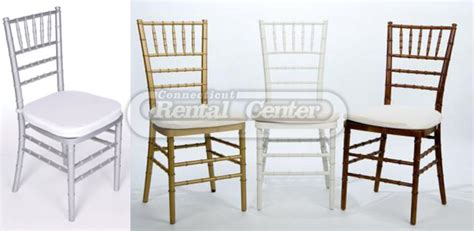 rent chairs rent chiavari chairs from ct rental center