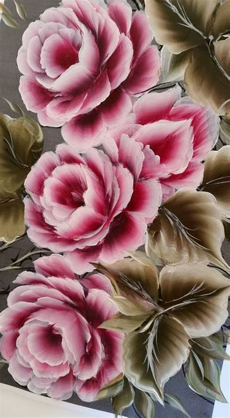 one stroke flowers painting 25 best ideas about one stroke painting on
