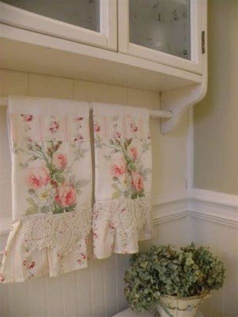shabby chic bath towels 32 sweet shabby chic kitchen decor ideas to try shelterness