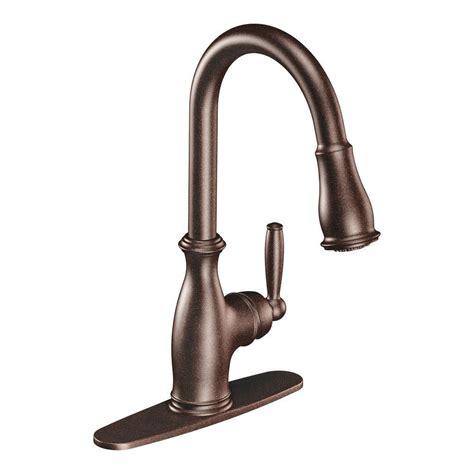 moen brantford kitchen faucet moen brantford single handle pull sprayer kitchen
