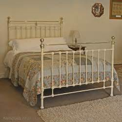 antique iron bed cast iron and brass bed antiques atlas