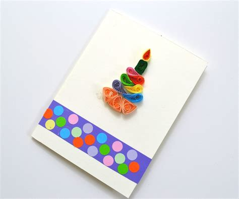 card paper craft ideas how to make quilling cards for birthday diy paper crafts