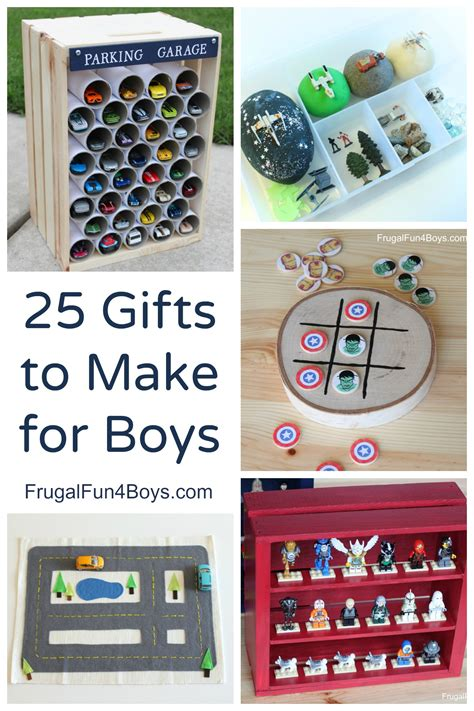 ideas for to make 25 more gifts to make for boys