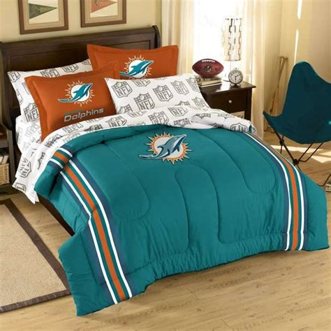 miami dolphins comforter set 17 best images about nfl quilt logos on