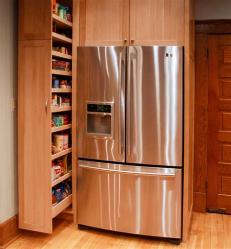 kitchen cabinets ideas for storage smart space saver for the kitchen pull out pantry cabinet has been a plus in staging kitchens