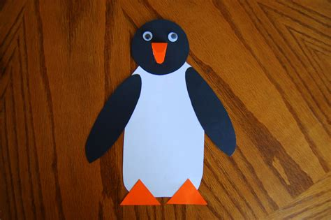 paper penguin craft tacky the penguin craft she s crafty
