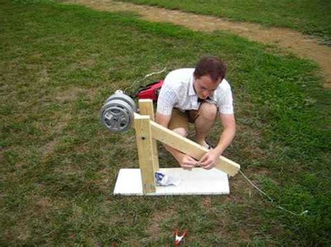 home made trebuchet