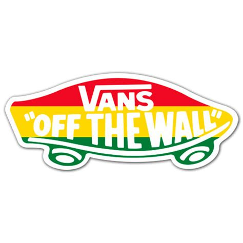 Do Wall Stickers Come Off sticker surf skate vans off the wall 4 muraldecal com